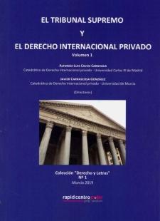 El TRIBUNAL Supremo y el Derecho Internacional Privado