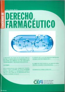 CUADERNOS de derecho farmacéutico