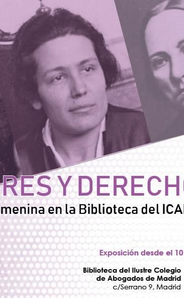 Exposición Mujeres y Derecho